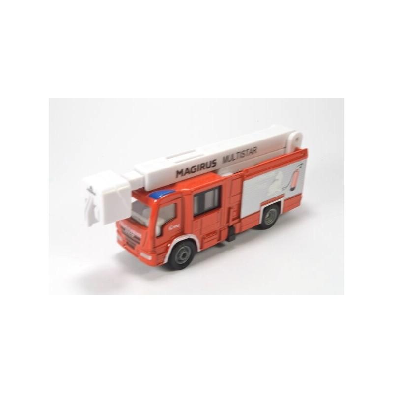 Magirus Multistar fire brigade with telescopic boom