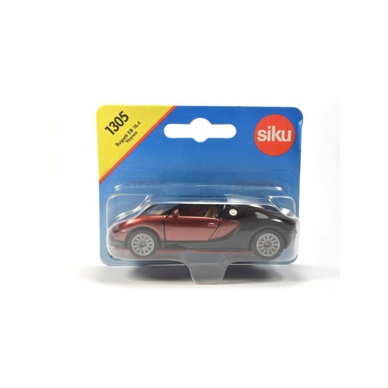 Bugatti EB 16.4 Veyron métallique rouge-brun et noir