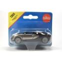 Siku 1305 D Bugatti EB 16.4 Veyron zilver en zwart