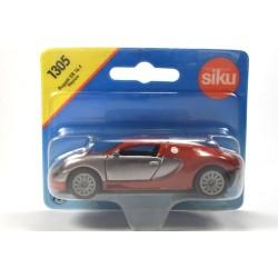 Bugatti EB 16.4 Veyron silver and red