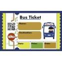 Siku 5509 Bus stop with school bus