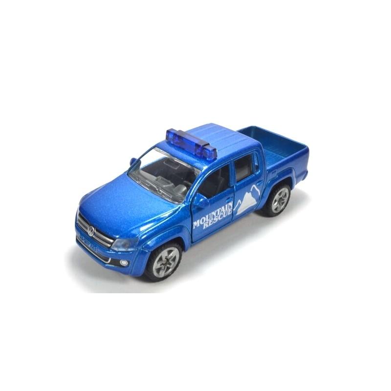 Volkswagen Amarok Mountain Rescue, hohe Blaulichtleiste