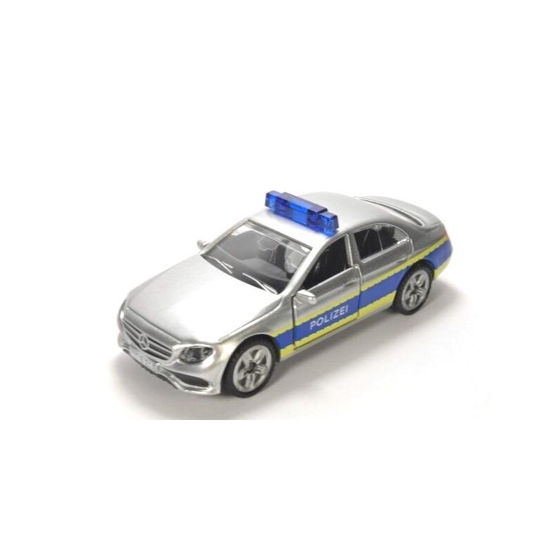 Mercedes Police patrol car