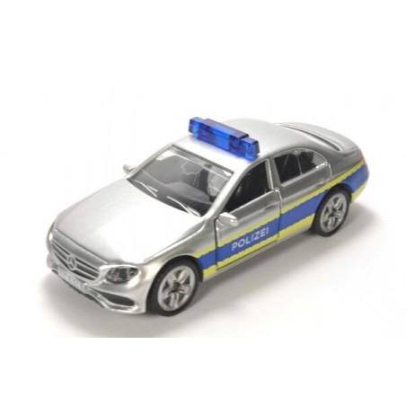 Mercedes-Benz E350 CDI Police patrol car with high blue light bar
