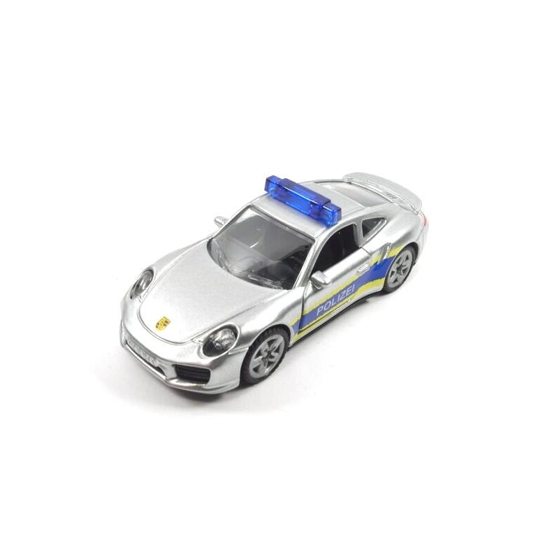 Porsche 911 Autobahnpolizei mit hohe Blaulichtleiste