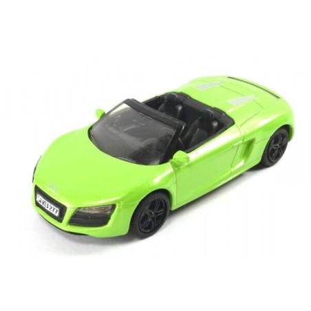Audi R8 Spyder, metallic green