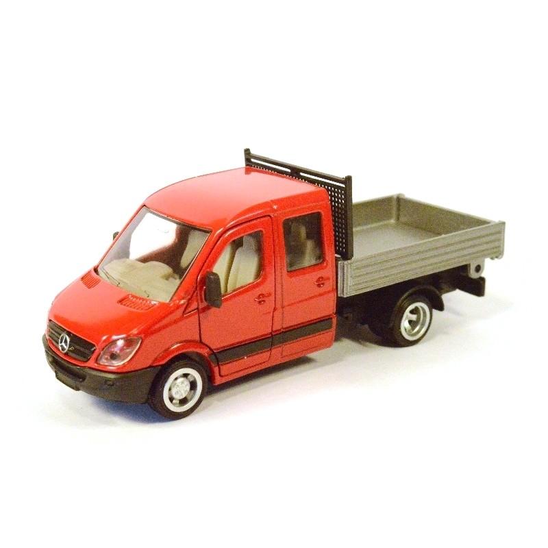 Mercedes Transporter met laadbak