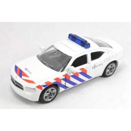 Dodge Charger Police car, high blue light bar