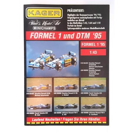 Kager flyer 1995 F1 & DTM