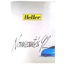 Catalogue de kits de construction Heller 1992