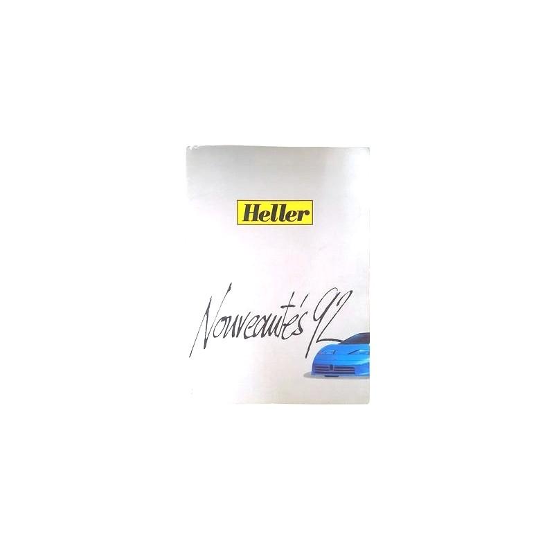 Heller construction kits catalog 1992
