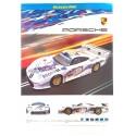 Scalextric Porsche 911 GT1 flyer