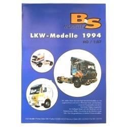 B&S Modelle LKW-Modelle 1994