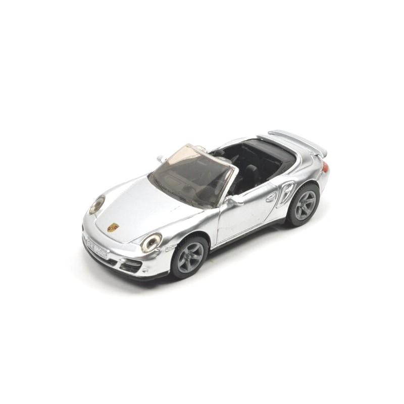 Porsche 911 Turbo cabriolet silber