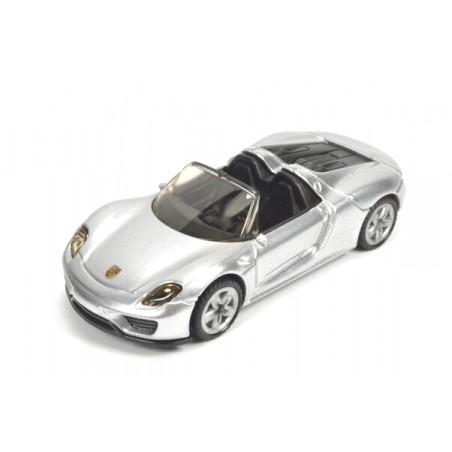 Porsche 918 Spyder, argent