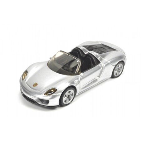 Porsche 918 Spyder, silver