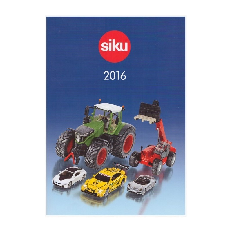 Siku dealer catalog 2016
