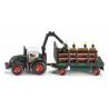 Fendt Tracteur avec remorque forestière