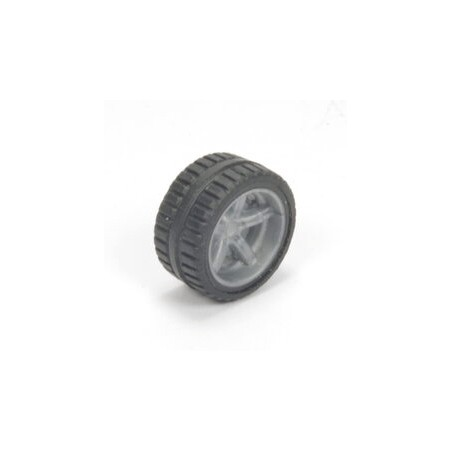 Loose wheel with gray rim