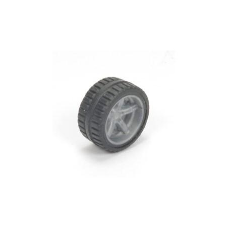Losse wiel met grijze velg