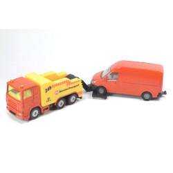 Afsleepwagen met bestelbus