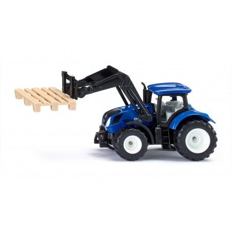 New Holland with pallet fork