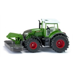 Fendt 942 Vario with front mower