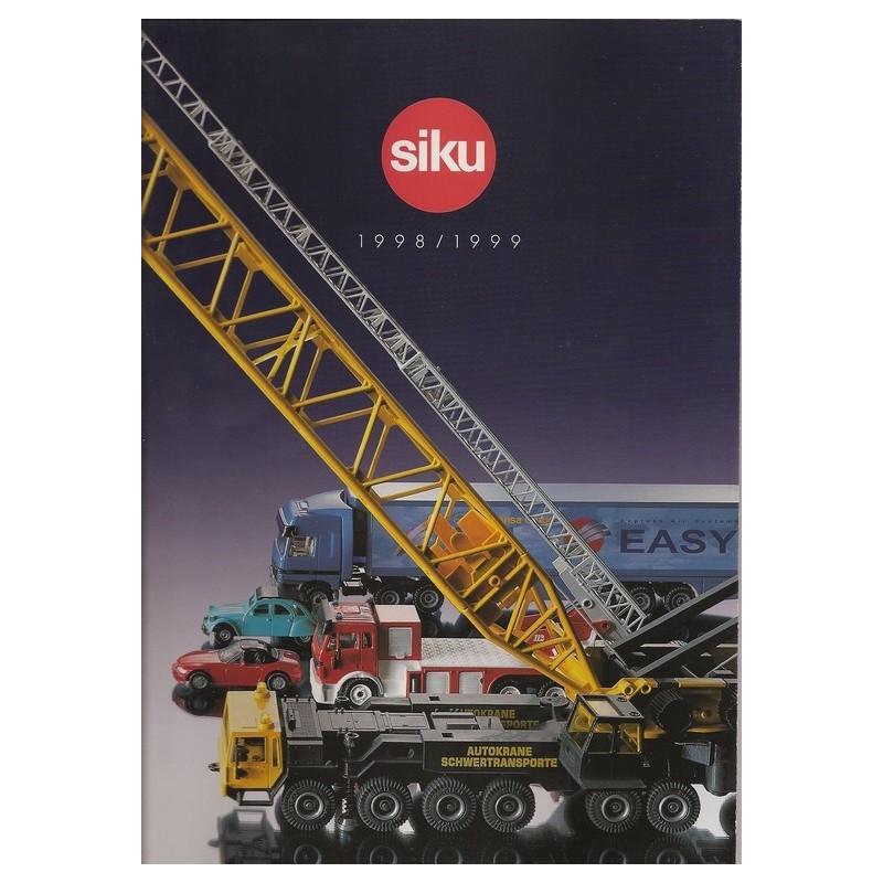 Siku catalogus A4 1998/99