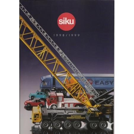 A4 Siku dealer catalogus 1998/99