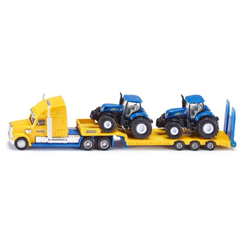 Freightliner LKW mit New Holland Traktoren