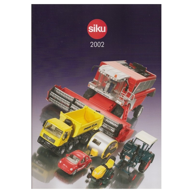 Siku catalogus A4 2002