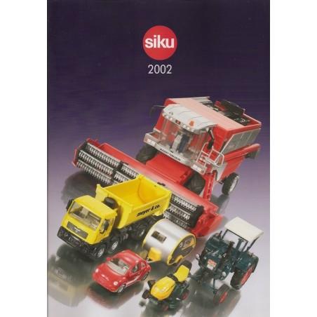 A4 Siku dealer catalogus 2002
