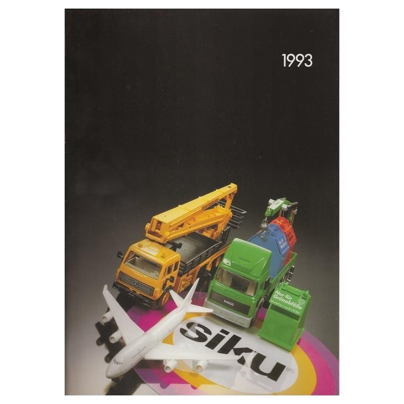 Siku catalogus A4 1993