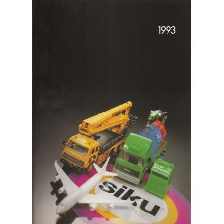 A4 Siku dealer catalog 1993