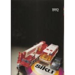 Siku catalogus A4 1992