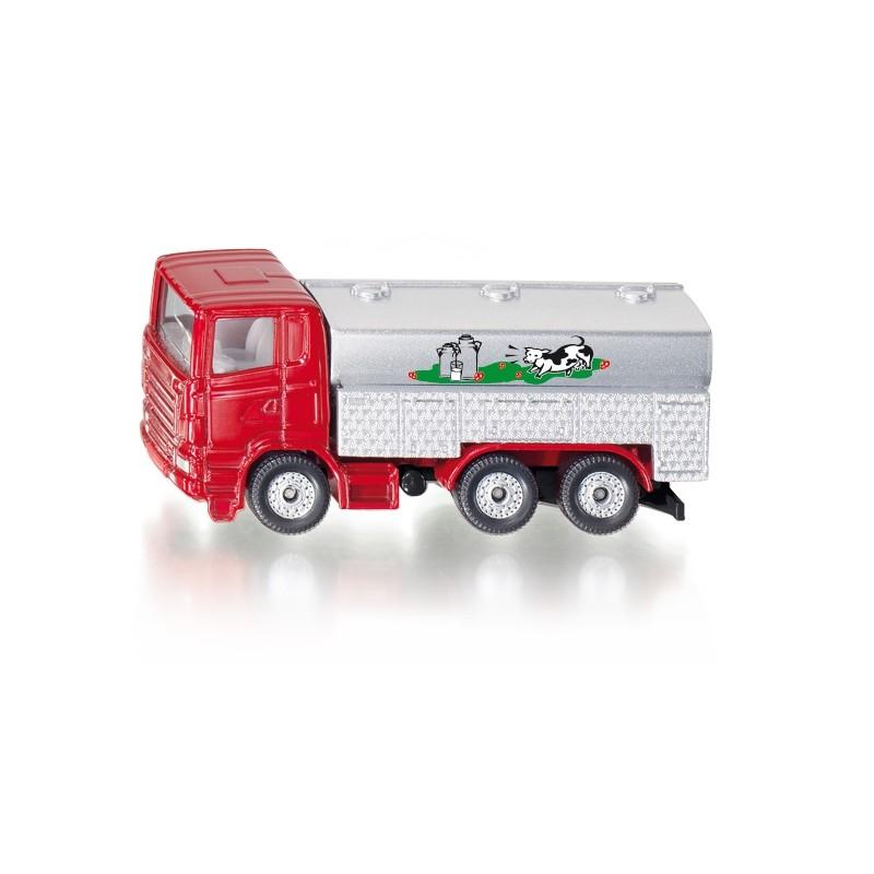 Camion citerne de lait