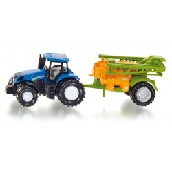 New Holland met Amazone veldspuit