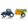 New Holland tractor with Amazone sprayer